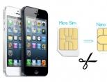 Как пообрезать микро-сим(micro-SIM) карту около нано(nano-SIM)?