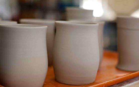 Как сделать посуду из глины