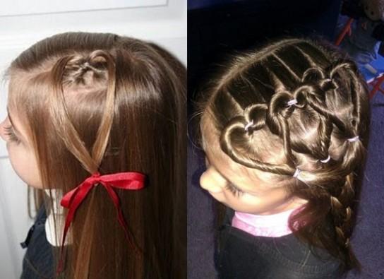 Причёски для детей на длинные волосы