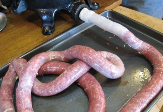 рецепты колбасы из говядины
