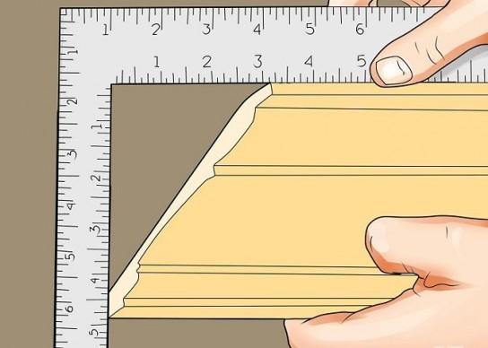 Как сделать угол 90 градусов из плинтуса