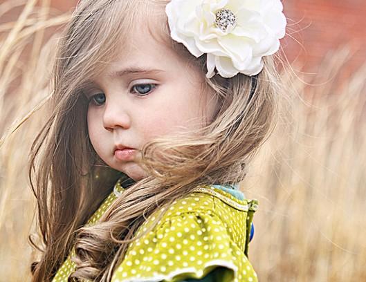 Дети с длинными волосами фото