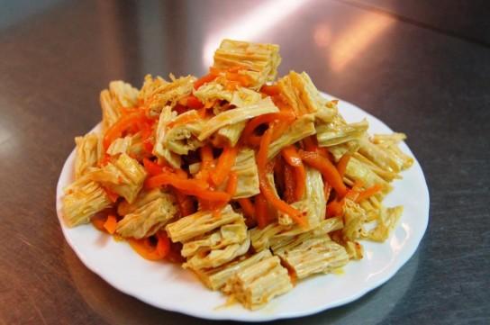 соевая спаржа салат рецепты приготовления