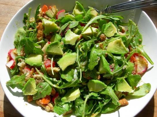 простые салаты с руколой рецепты с фото