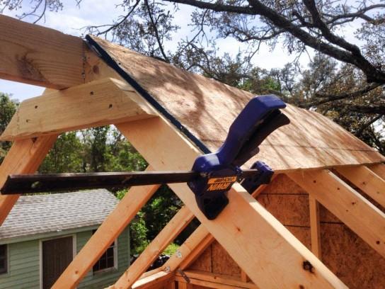 Как сделать крышу дома 4-4