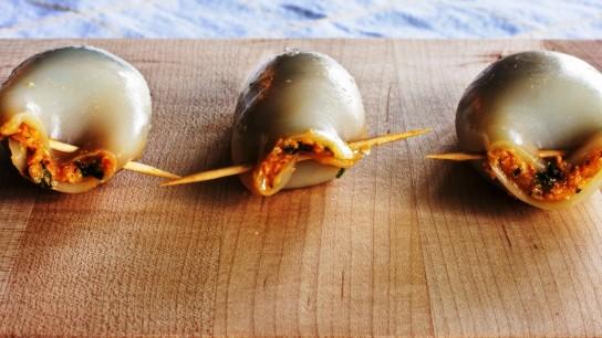 Кальмары фаршированные диетические рецепты