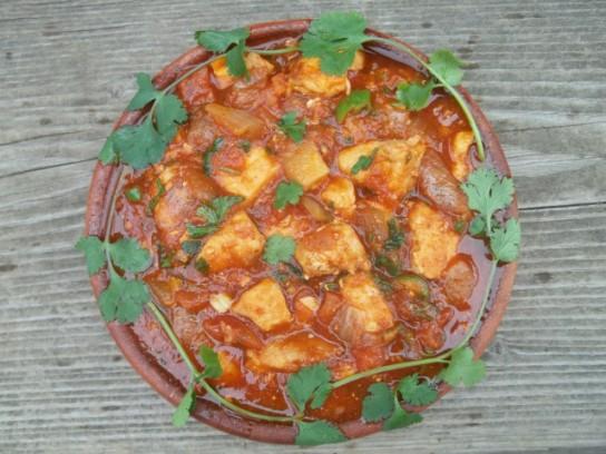 Рецепт из набора для чахохбили