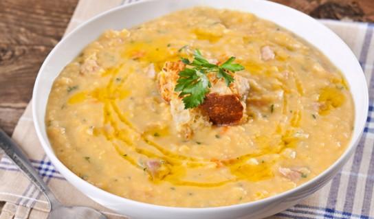 гороховый суп из зеленого гороха рецепт классический
