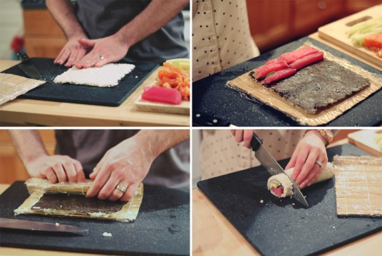Как сделать роллы в домашних условиях пошагово без коврика с