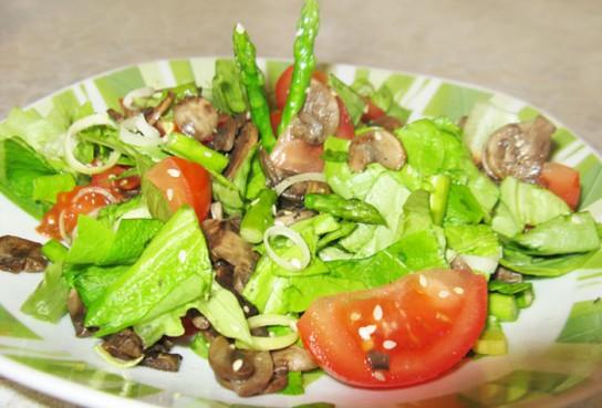 салаты высоком холестерине