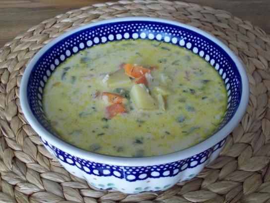 Суп из консервы горбуши рецепт с фото