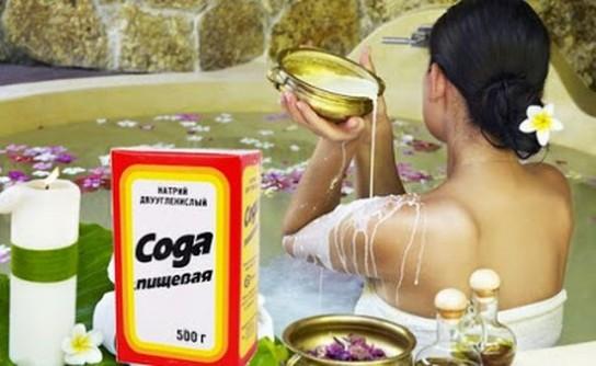 Как похудеть с помощью соды ванная