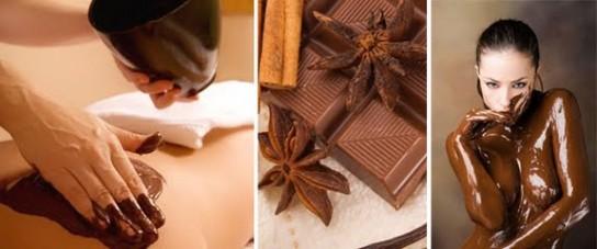 Обертывания из шоколада в домашних условиях