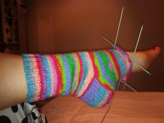 Как научиться вязать спицами для носков