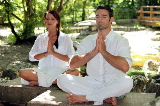 Тишина и покой во время медитации