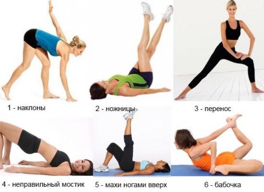 Список и техника выполнения эффективных физических