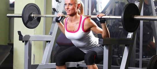 похудеть в спортзале за месяц