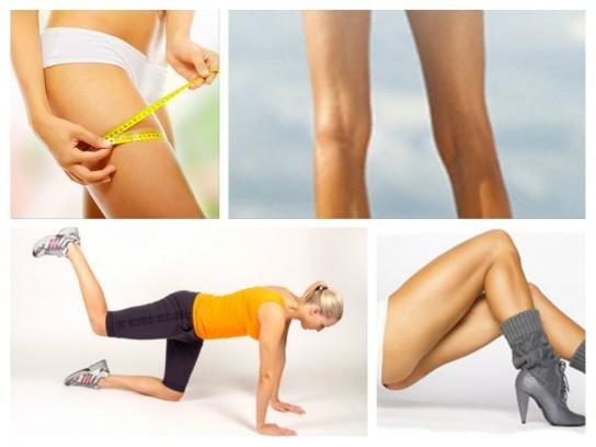 как похудеть в мышцах ног