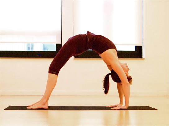 Упражнение мостик фото