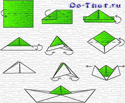 Как сделать бумажный кораблик? Время полезных советов