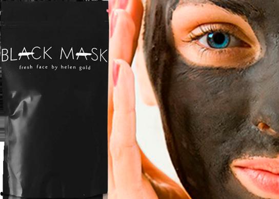 черная маска от черных точек фан