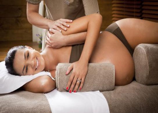 секс массаж беременности