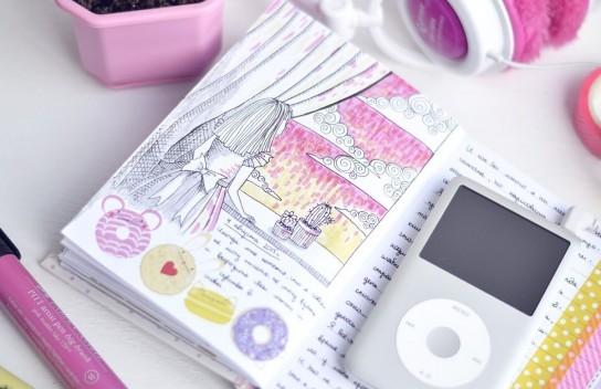 Как украсить личный дневник 88