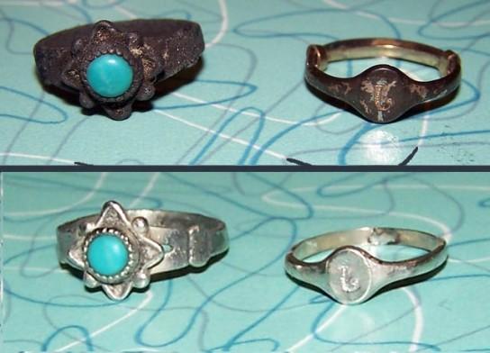 Как почистить серебряное кольцо в домашних условиях 92