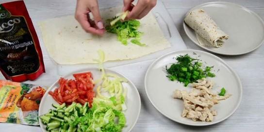 Рецепт салатов с картофелем фри