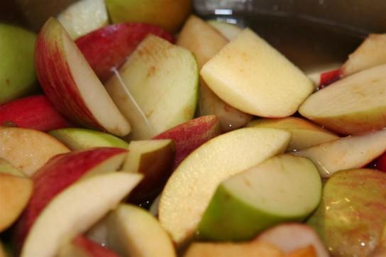 аллергия на компот из яблок