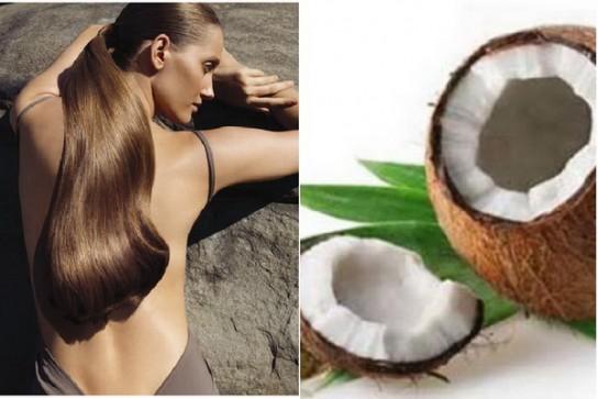 кокосовое масло как наносить на волосы