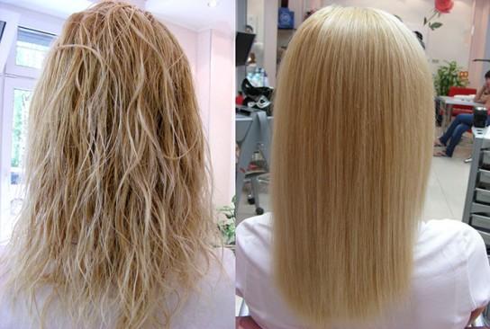как оживить волосы после осветления