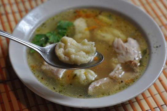 Клецки в суп рецепт