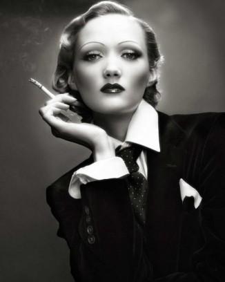 Великолепная Марлен Дитрих уделяла особое внимание своим губам