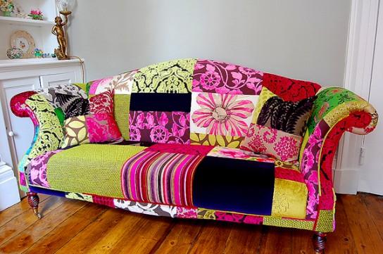 Как диван обшит новый ткани своими руками